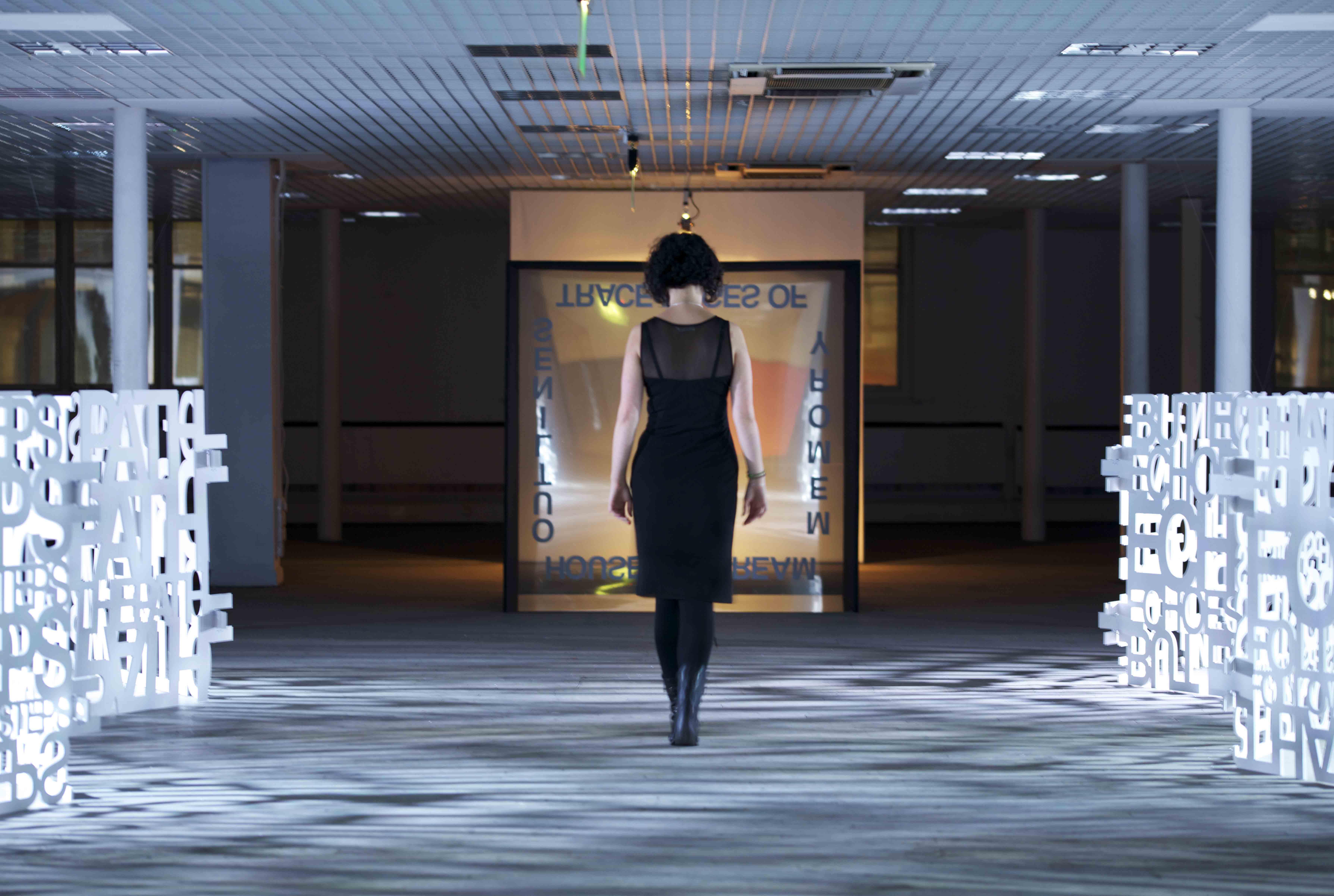 Elisa walking through Shadow Path LHMH